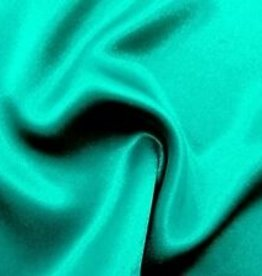 Satin Polyester 58 - 60 Inches  Jade