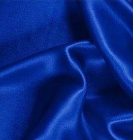 Satin Polyester 58 - 60 Inches  Electric Blue