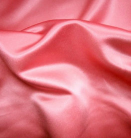 Satin Polyester 58 - 60 Inches  Coral (#15/43)
