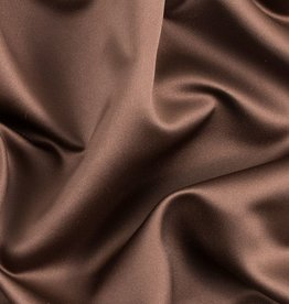 Satin Polyester 58 - 60 Inches  Brown (#18)