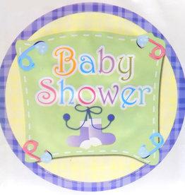"18"" 2 Sided Printed Mylar Balloon Baby Shower 2"