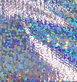 Tricot Lame Sparkle/Dots Silver