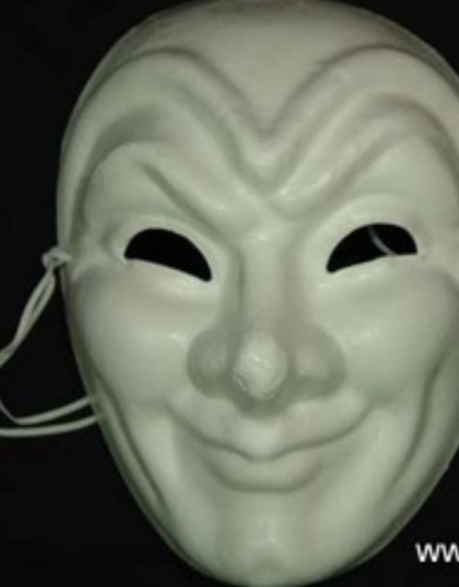 Blank Paper Mache Full Face Masks