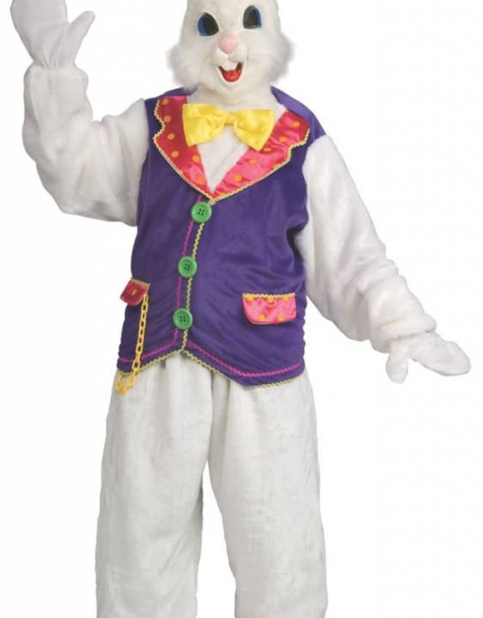 Bunny Costume White & Blue One Size