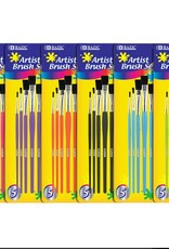 Assorted Size Paint Brush Set