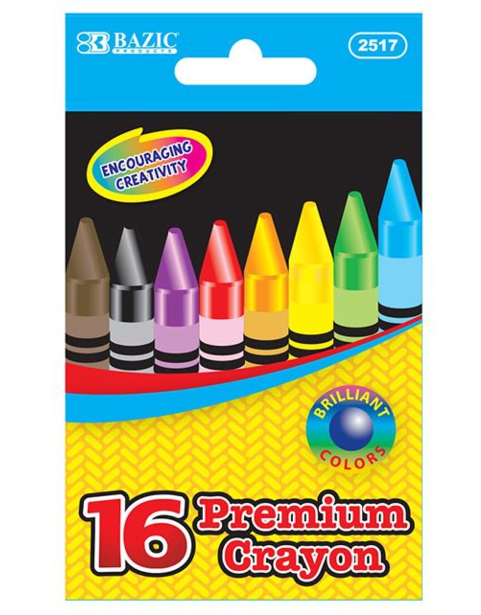 16 Premium Quality Crayon