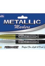 Silver & Gold Metallic Markers