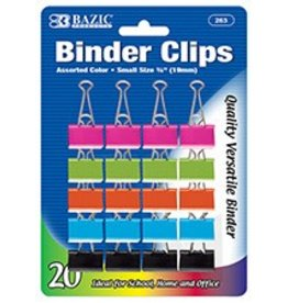 """Small 3/4"""" (19Mm) Assorted Binder Clip"""