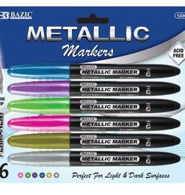 Metallic Markers 6ct