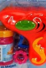 Bubble Gun With Bubble Solution Multi-Coloured