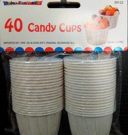 40Ct White Jello-Shot/Candy Cups