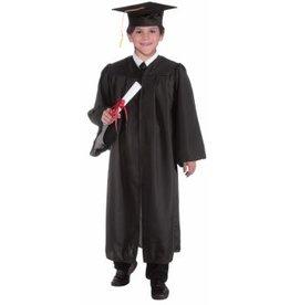 Child Graduation Robe - Black