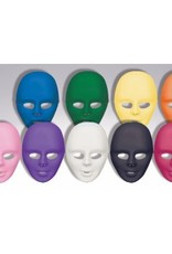 Colored Face Mask Black