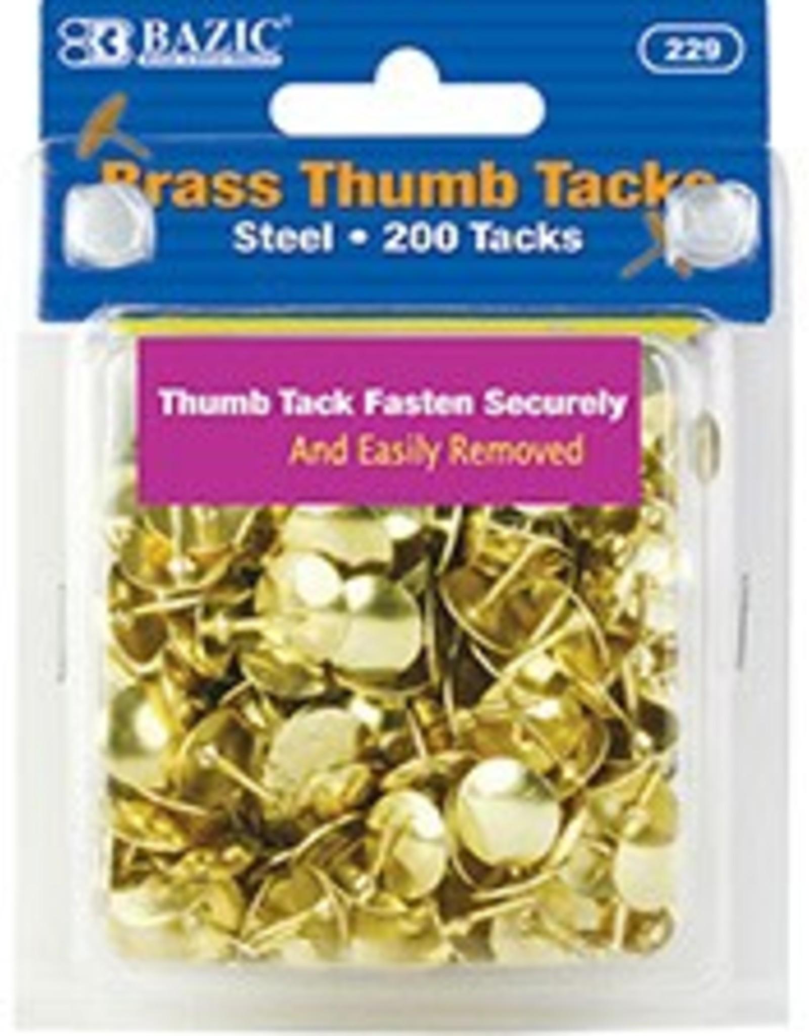 Brass (Gold) Thumb Tack 200Pcs