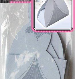 Wedding Bride Favour Boxes White (10 Pieces)