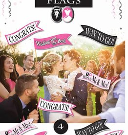 Wedding  Line - Celebration Pennant
