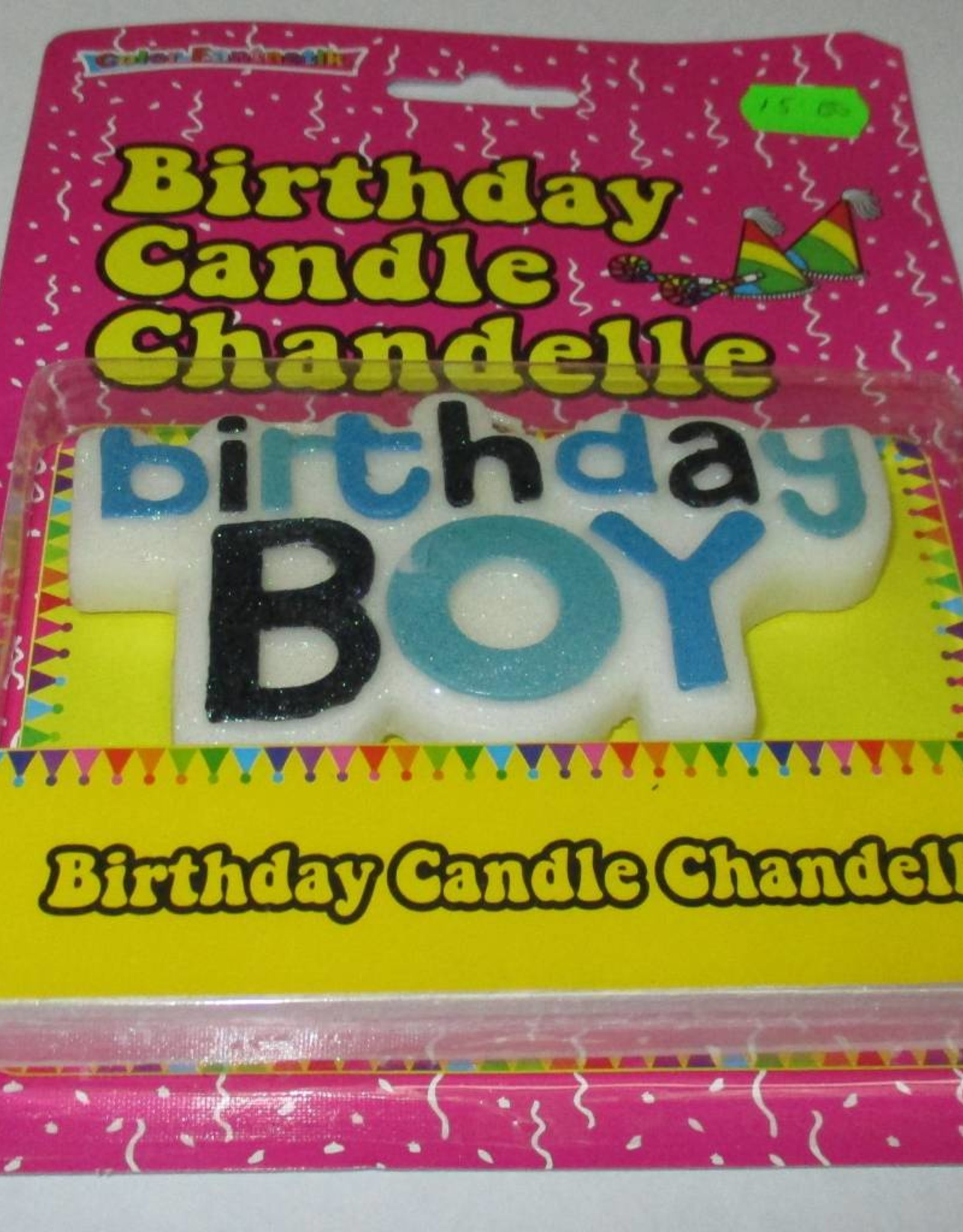 Birthday Candle Chandelle Birthday Boy