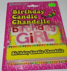 Birthday Candle Chandelle Birthday Girl