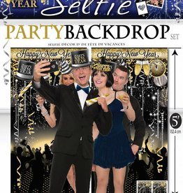 New Year'S Photo Booth Prop (18 Pieces)