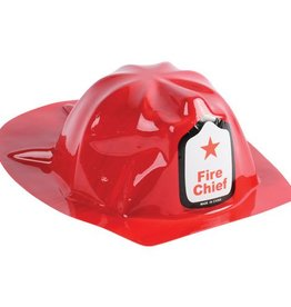 Firefighter Helmet Red 4.5 X 10.5 Inches