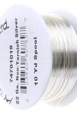 Artistic Wire 22Ga 10Yd Silver Plated