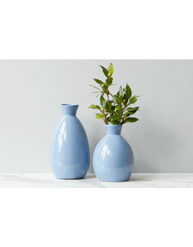 Denim Artisanal Vase - small