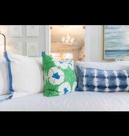 Sunburst Emerald Pillow - 22x22