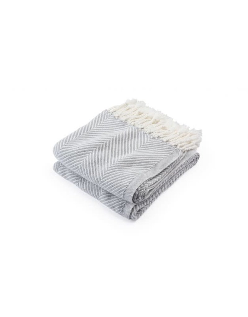 Hand-Twisted Cotton Throw