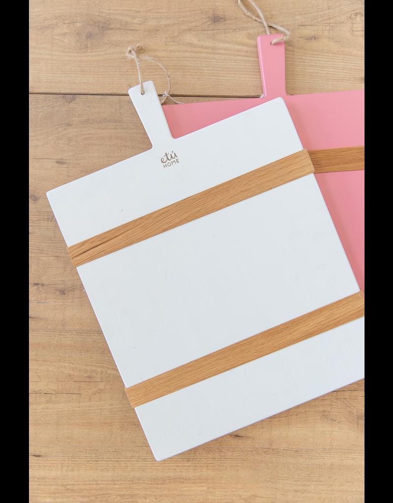White Rectangle Mod Charcuterie Board - Medium