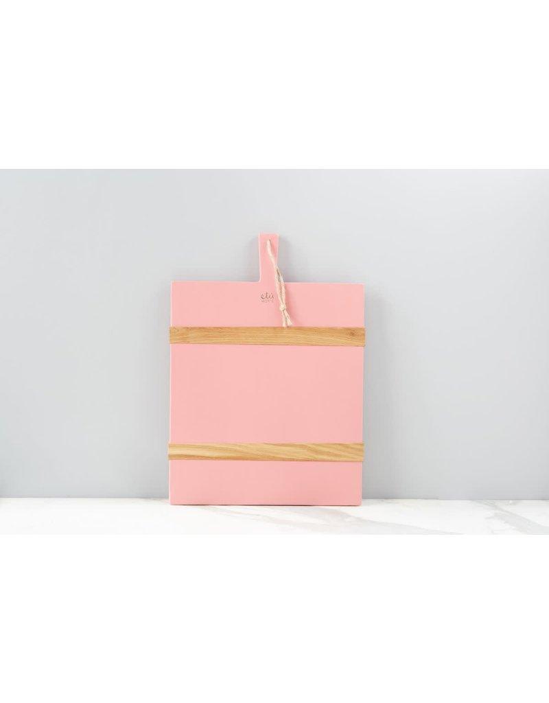 Pink Rectangle Mod Charcuterie Board - Medium