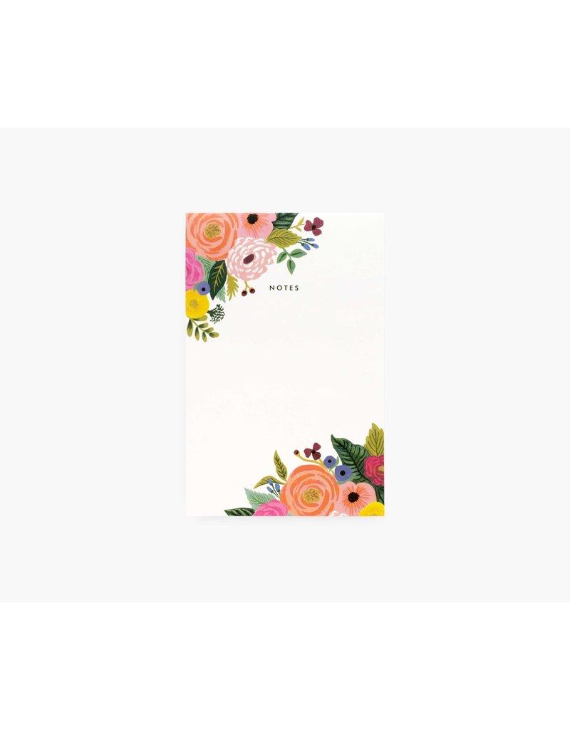 Notepad - Juliet Rose