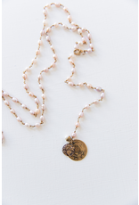 B03 - Triple Layer Necklace - Pearl
