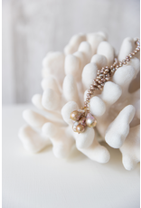 "B18  36"" Linked Lariat - Cocoa Pearls"