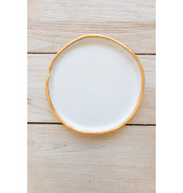 Plate No. Two Hundred Three 22k Gold - Small