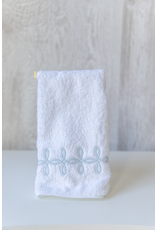 Gordian Guest Towel - Terry - Blue