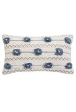 Izzy Hand Woven Pillow w/ Insert - 14x24
