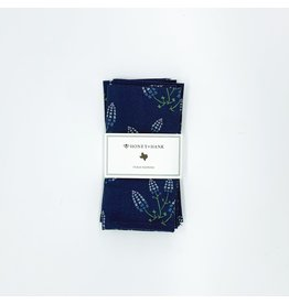 Napkins - Texas Bluebonnets (Navy) s/4