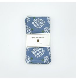 Napkins - Alabama Hydrangea (French Blue) s/4