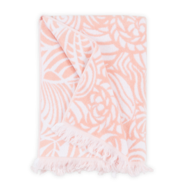 Seashells Beach Towel - Pink