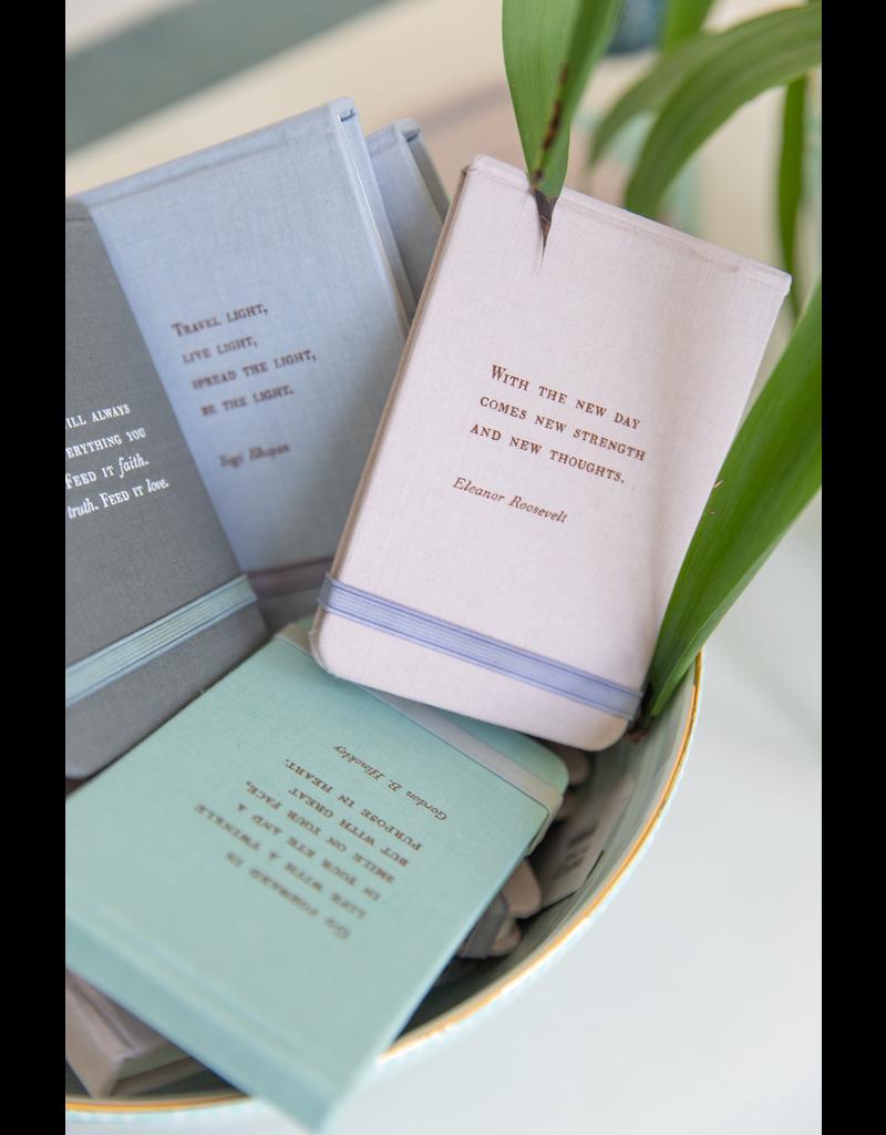 Fabric Notebook - Eleanor Roosevelt