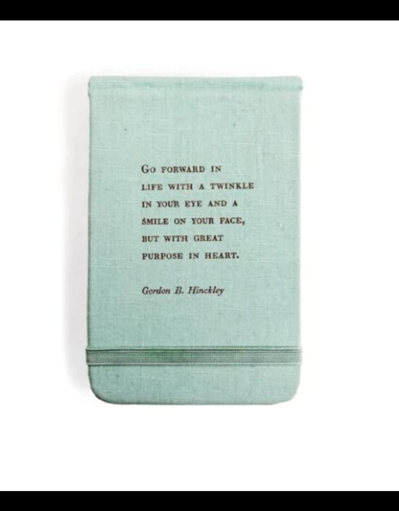Fabric Notebook - Gordon B. Hinckley