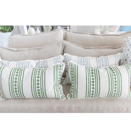 New Haven Green Pillow - 12x22