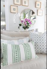 New Haven Green Pillow - 12x22