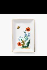 Catchall Tray - Poppy Botanical