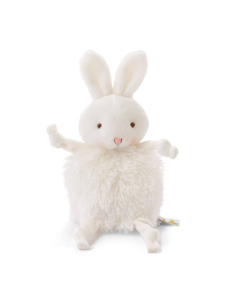 Roly Poly White Bunny