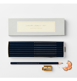 Pencil Set - Navy