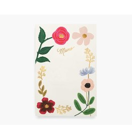 Memo Notepad - Wildflowers