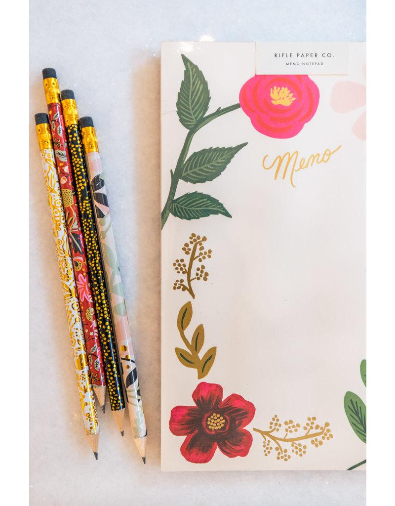 Memo Notepad - Wildflowers