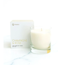 Champagne + Rose Candle