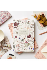 Heirloom Pressed Floral Lay Flat Notebook